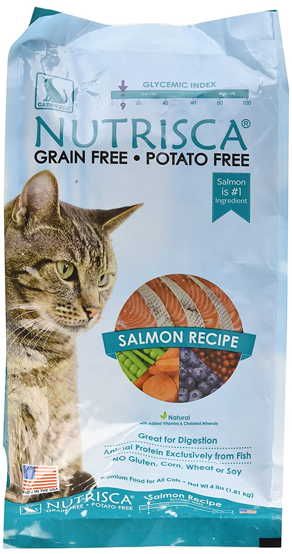 4lb Nutrisca Cat Salmon, 4Lb