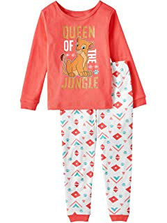 Women/'s Girl/'s Disney Simba Pyjamas From the Lion King  set PjS 8-10 to 16-18