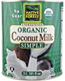 Native Forest Simple Organic Unsweetened Coconut Milk, 96 Ounce
