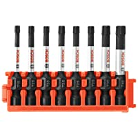 Deals on Bosch CCSTV208 8Piece Impact Tough Torx 2 In. Power Bits