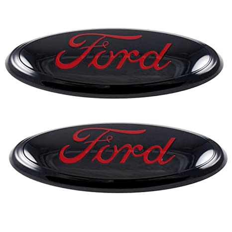 Amazon 2005 2014 Ford F150 Redblack Oval 9 X 35 Front And