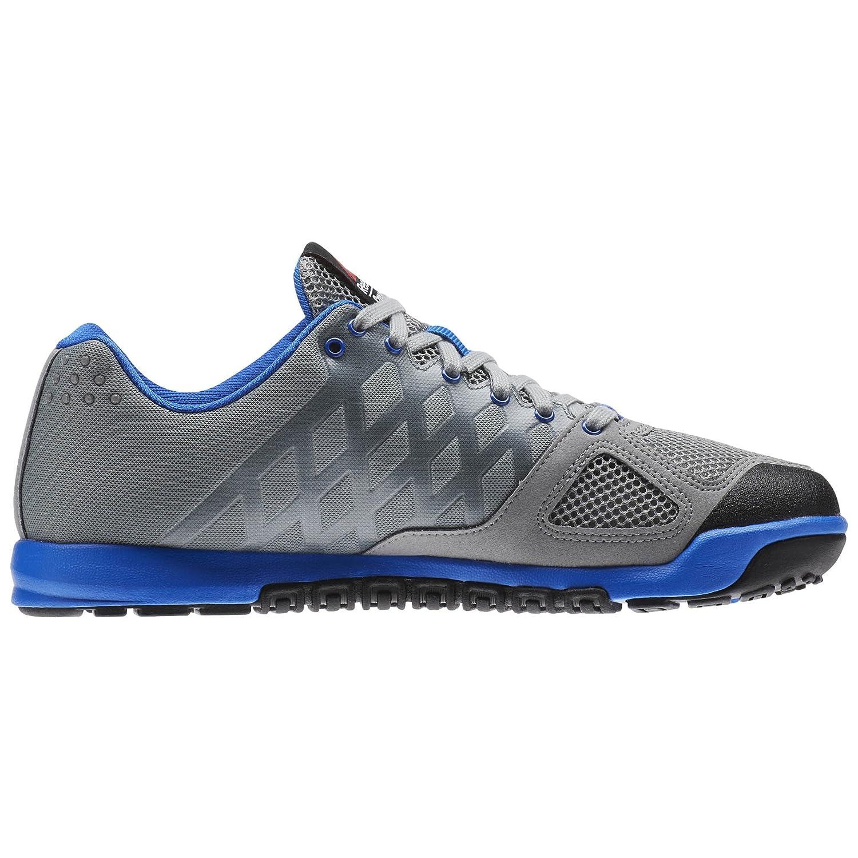b5f7afdbb0f24 Zapatillas de entrenamiento Reebok Crossfit Nano 2.0 para hombre Gris    blanco   azul   negro