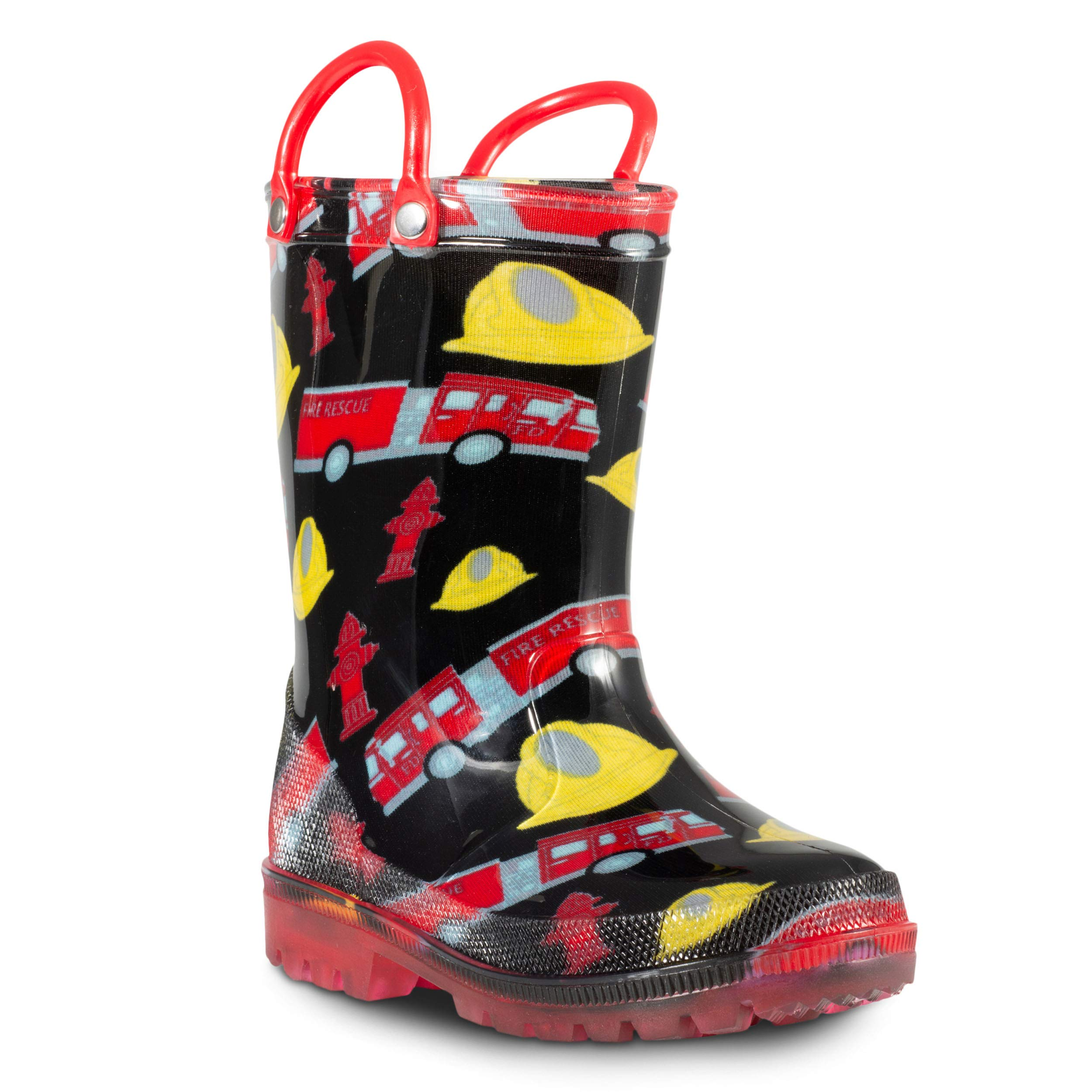 ZOOGS Children's Light Up Rain Boots for Little Kids & Toddlers, Boys & Girls by ZOOGS (Image #1)