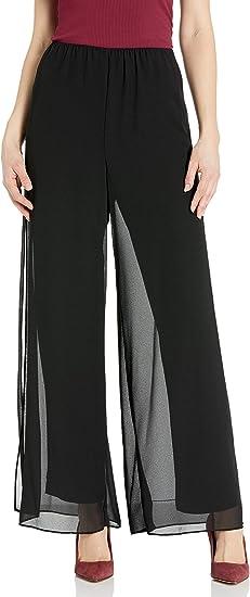 Alex Evenings Womens Straight Leg Dress Pants Petite Regular