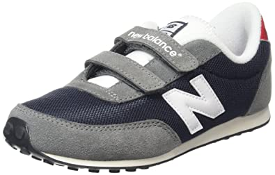 best website edcfb 23ef5 New Balance Unisex Kids Hi-Top Sneakers, Multicolor (Navy 410), 5