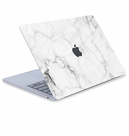 newest 8fc51 d8dc5 Digi-Tatoo Fresh Marble MacBook Skin Decal Cover for MacBook Pro 15 inch  w/Touch Bar (Model A1707), Full Body Protective, Removable and Anti-Scratch  ...