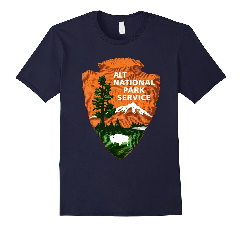 ALT US National Park Service Resist Bear T-shirt