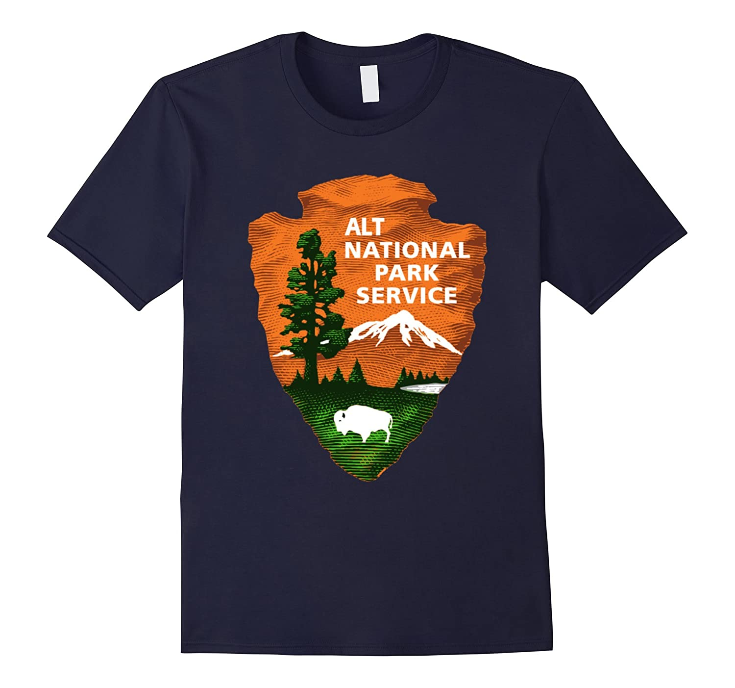 ALT US National Park Service Resist Bear T-shirt-ah my shirt one gift