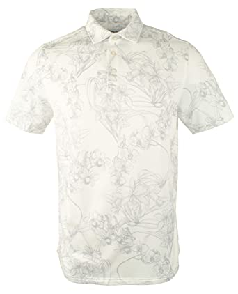 b0e4c9a4 Image Unavailable. Image not available for. Color: Tommy Bahama Golf Coast  Polo Shirt (Color: White, Size 3XL)