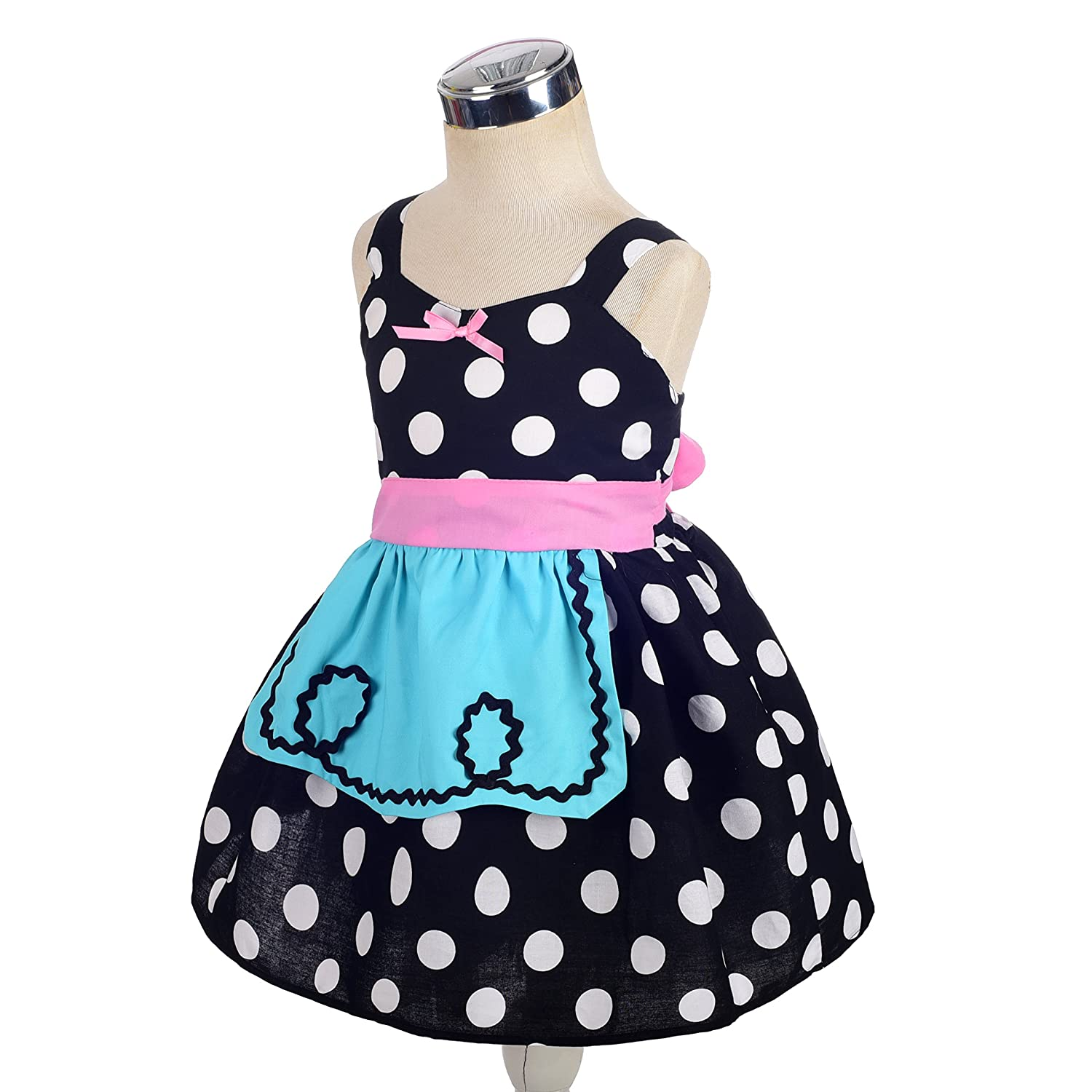 d789fcce911 Amazon.com  Dressy Daisy Princess Snow White Dress Alice Dress with Apron  Summer Dresses for Baby   Toddler  Clothing