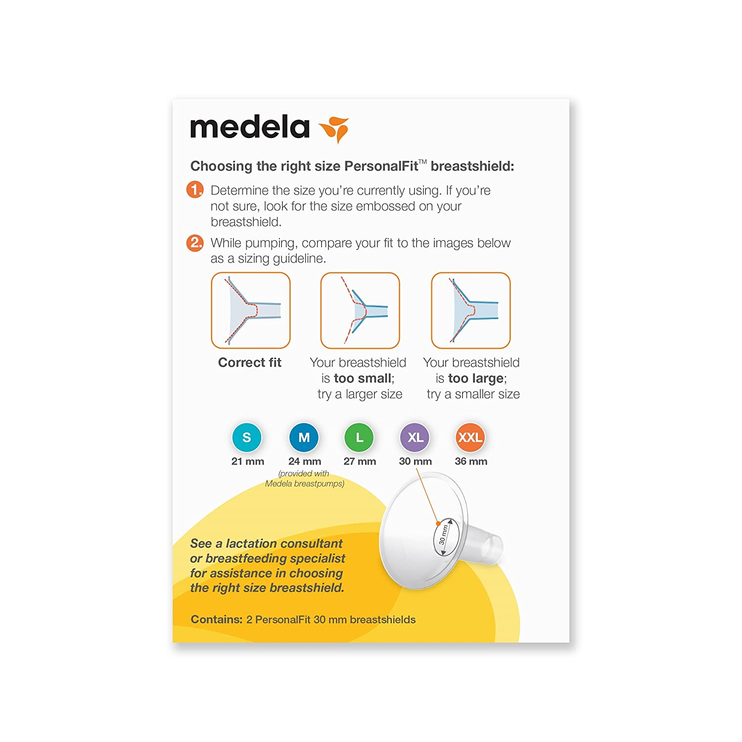 30mm Discontinued by Manufacturer Medela Personalfit Breastshield X-Large