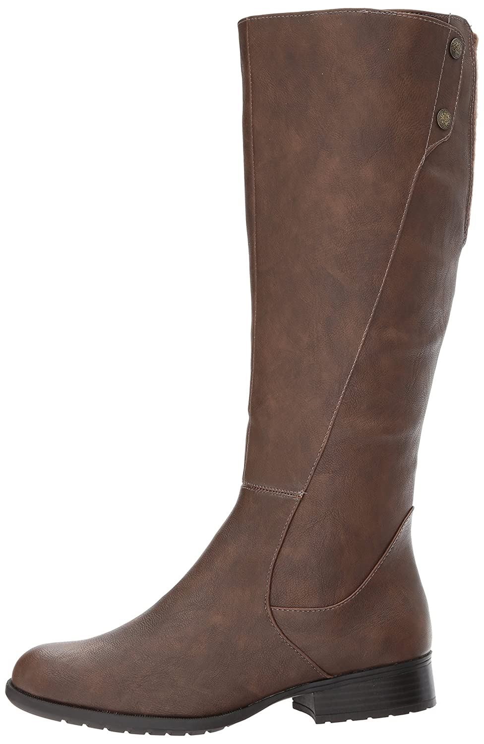 LifeStride Women's 8.5 Xripley Riding Boot B071JXDFGD 8.5 Women's W US|Dark Tan 4dbcec