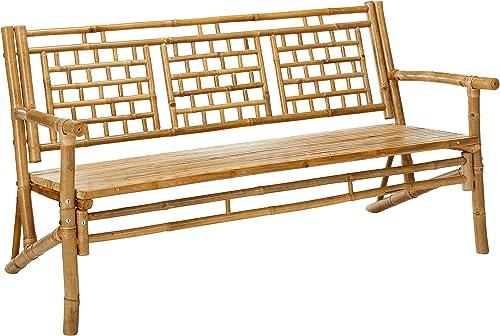 MGP Standard Square Pattern Bamboo Bench