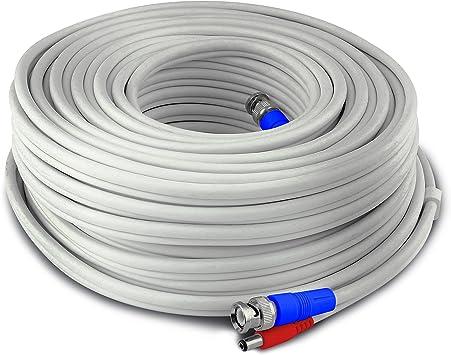 Dome y PTZ Cable de seguridad BNC 3 en 1 para c/ámaras Pro 30 m Swann