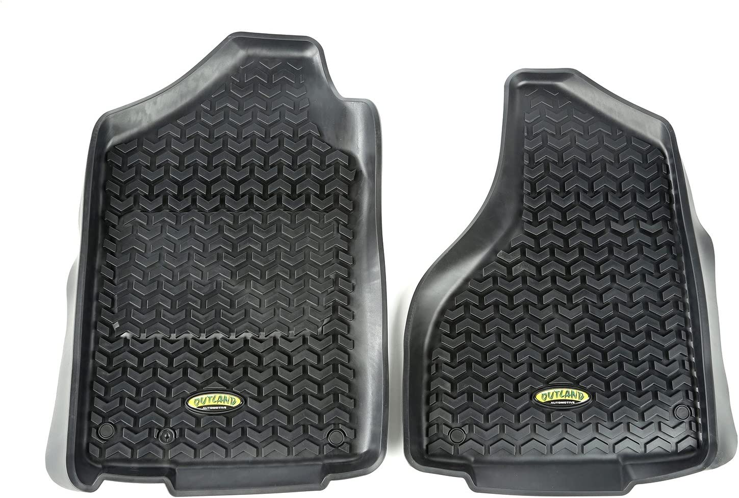 Outland 398290305 Black Front Row Floor Liner For Select Dodge Ram, Ram 1500, 2500 and 3500 Models 81TUHji4d4LSL1500_