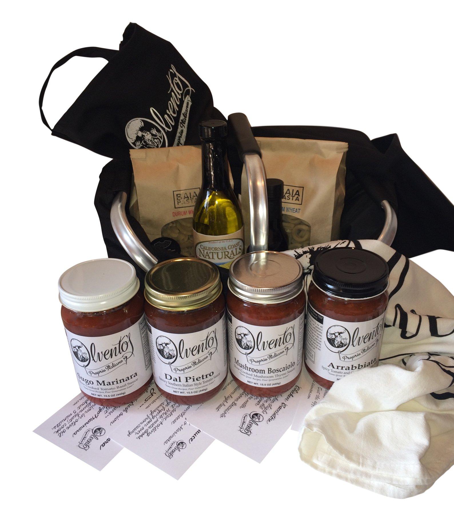 Ilvento's Proprio Italiano Gioa di Cucina Deluxe Gift Basket