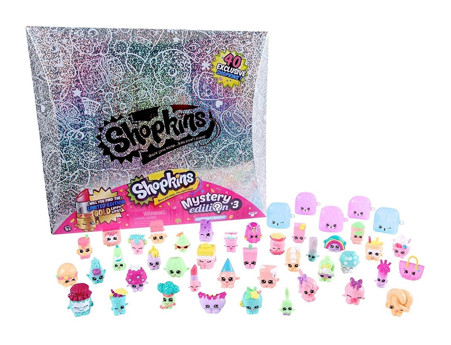 60OFF Shopkins Mystery Edition 30 Silver Box Set Limited
