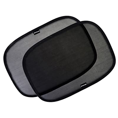 """Enovoe Car Window Shade - (4 Pack) - 21""""x14"""" Cling Sunshade for Car Windows - Sun, Glare and UV Rays Protection for Your Child - Baby Side Window Car Sun Shades: Automotive"""