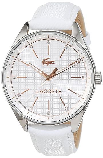 Lacoste 2000900 - Reloj analógico para mujer (correa de piel ... 185bcada8aa8