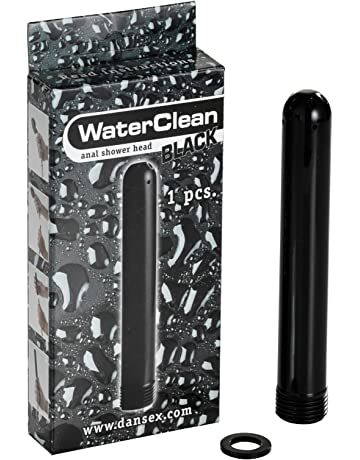 Danatoys WaterClean alcachofa de la ducha en negro