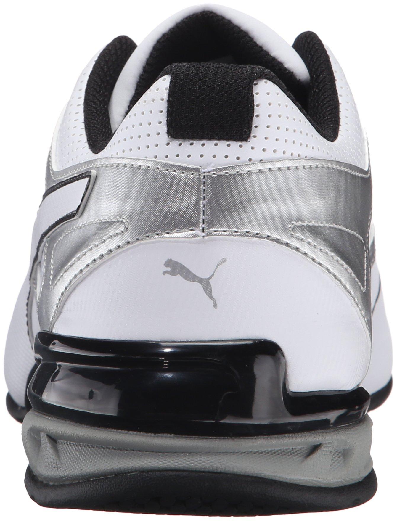 PUMA Men's Tazon 6 FM Puma White/ Puma Silver Running Shoe - 7.5 D(M) US by PUMA (Image #2)