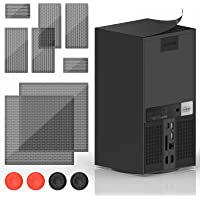 Dust Filter Compatible with Xbox Series X, YUANHOT PVC Cooling Fan Grills Cover Dust Mesh Proof Filter Case Compatible…