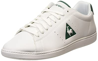 Le Coq Sportif Courtone S Lea Mens LowTop Sneakers White Optical