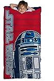Star Wars R2D2 Slumber Bag, Bonus Backpack with Straps, Blue/Red