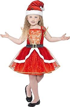 Smiffy s 21832t Miss de Papá Noel de niña disfraz (Tween Chica ...