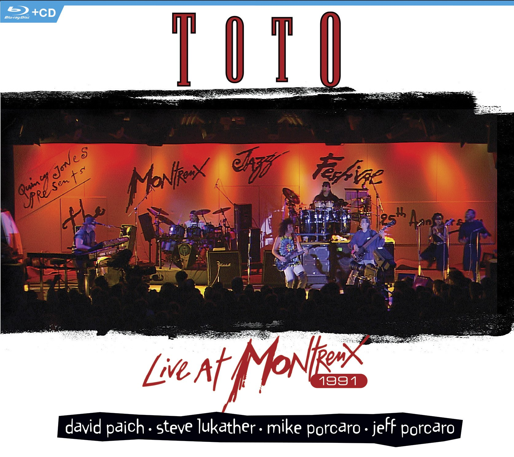 Blu-ray : Toto - Live At Montreux 1991 (With CD, 2 Disc)