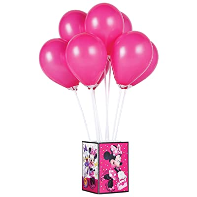 amscan Air-Filled Centerpiece | Disney Minnie Mouse Happy Helpers Collection | Party Accessory: Toys & Games