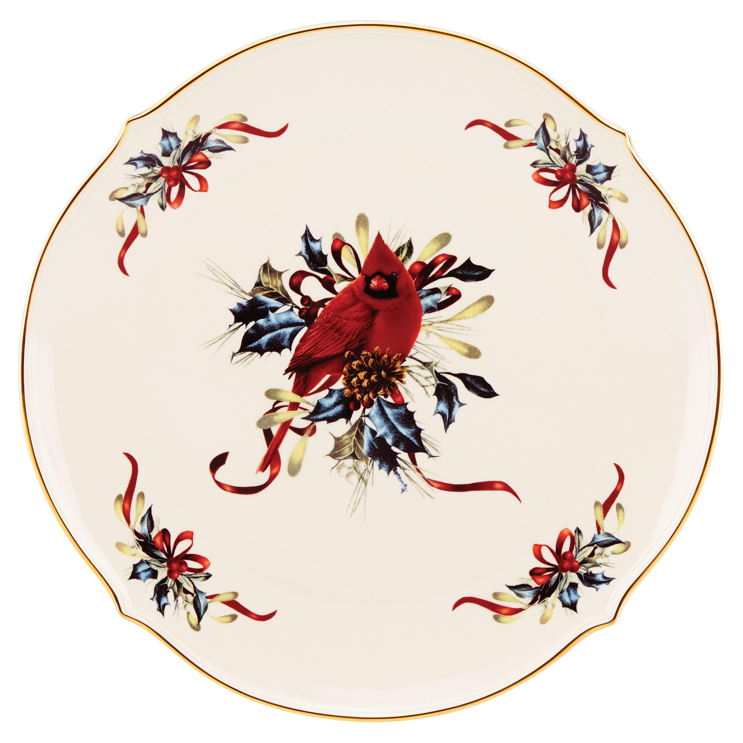Lenox Winter Greetings Round Platter