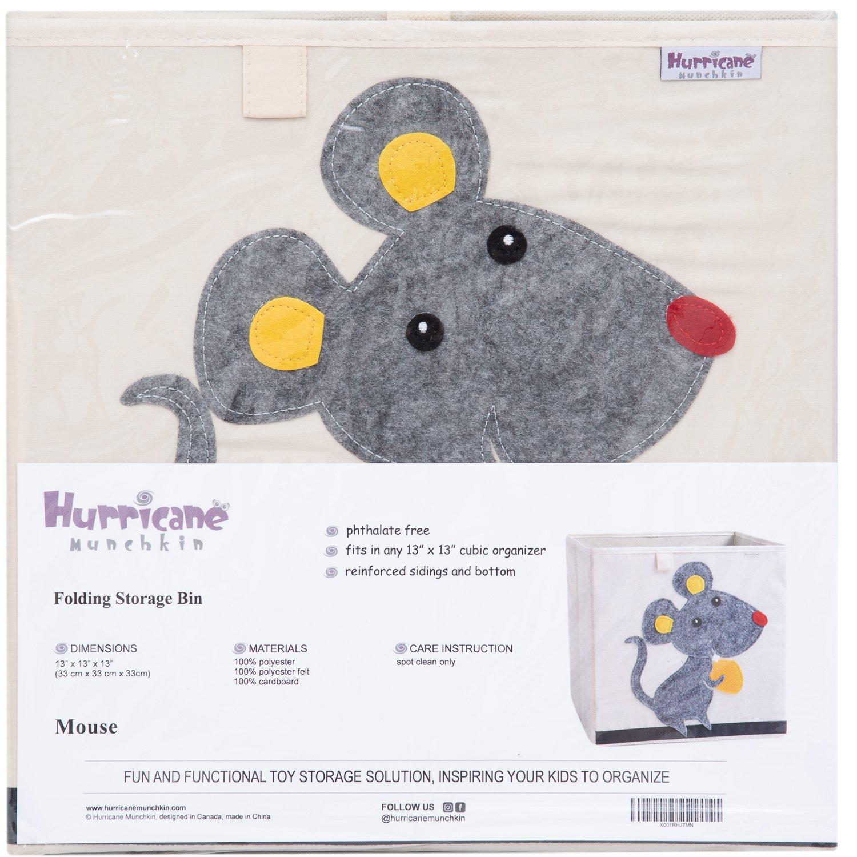 Cute Animal Collapsible Toy Storage Organizer Folding: Hurricane Munchkin Collapsible Toy Storage Box