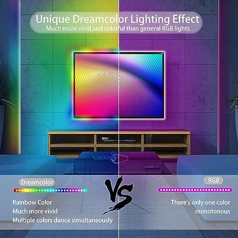 Details about  /Multi-color Strip Lights RGB Room Lights 3528 Led Tape Lights Color b 01 s w 193