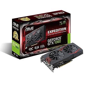 ASUS EX-GTX1060-O6G GeForce GTX 1060 6GB GDDR5 - Tarjeta gráfica (NVIDIA, GeForce GTX 1060, 7680 x 4320 Pixeles, 1594 MHz, 1809 MHz, 6 GB)