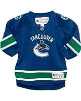 Vancouver Canucks Blank Blue Infants Reebok Home Replica Jersey