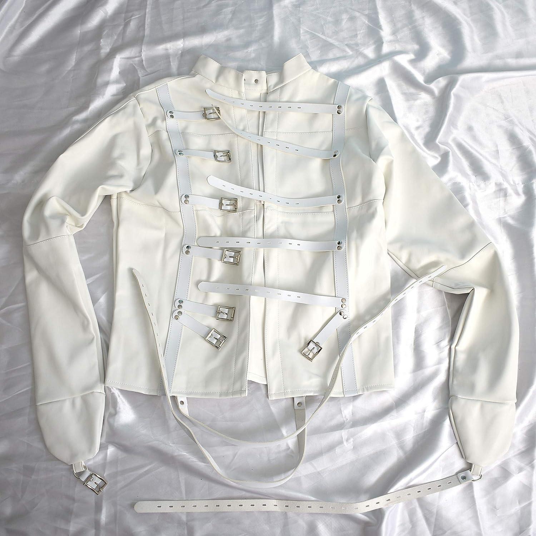 Camisa de fuerza suave hecha del cuero artificial para cerrar: Amazon.es: Salud y cuidado personal