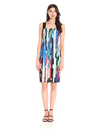 Milly Women's Mirage Stripe Lorena Dress, Multi, 2