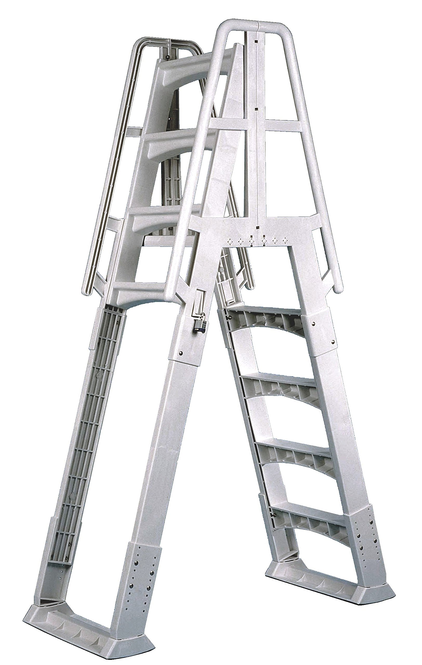 Vinyl Works Slide-Lock A-Frame Above Ground Pool Ladder by Vinyl Works