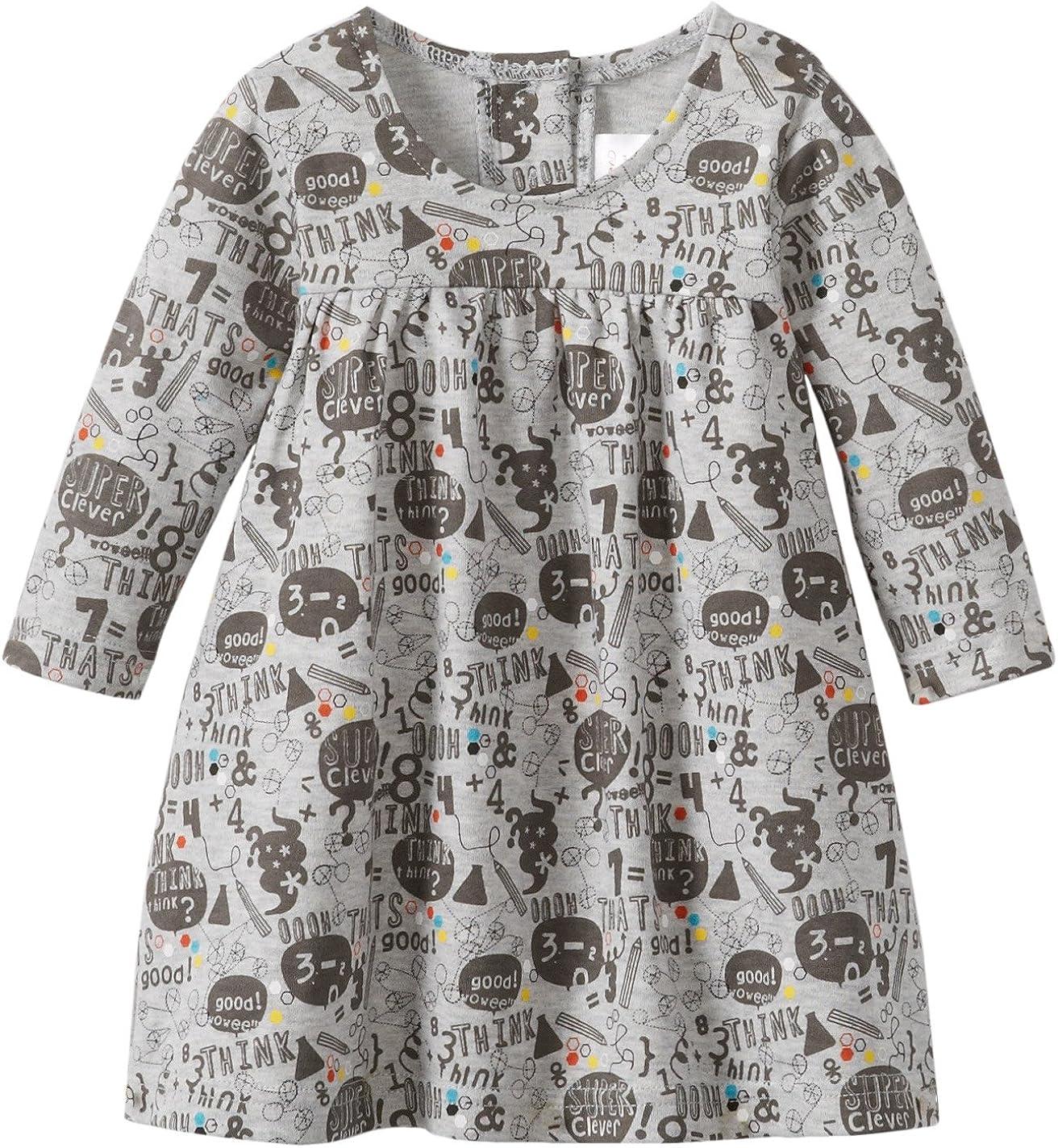 Zutano Little Boys Super Clever Long Sleeve Button Shirt