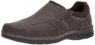 bd2d86b5e7 Rockport Men s Get Your Kicks Slip-On Brown Loafer 7 M (D)-