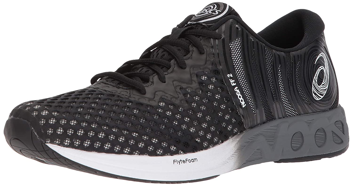 ASICS Mens Performance Noosa FF 2 Running Shoe - T819N.9001 (Black/White/Carbon - 7.5): Asics: Amazon.es: Zapatos y complementos