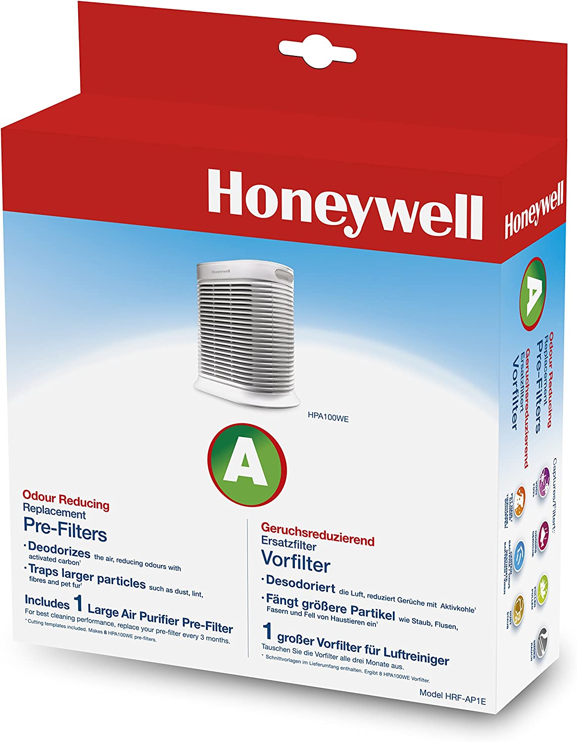 Honeywell HRF-Q710E True-Filtre HEPA Compatible Avec HPA710WE Purificateur d/'air