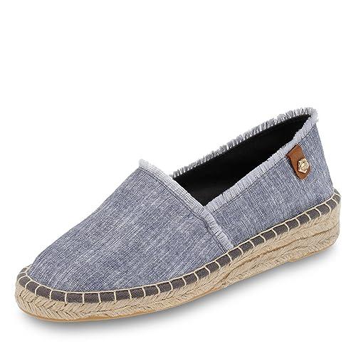 Tamaris Vigdis - Mocasines de tela para mujer, color azul, talla 38: Amazon.es: Zapatos y complementos