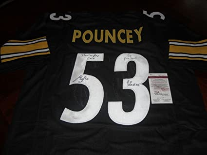 reputable site 7169d 26fa4 Maurkice Pouncey Signed Jersey - Go Roy 2010 6x Pro Bowl coa ...