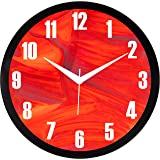 RAG28 11.75 Inches Designer Wall Clock for Home/Living Room/Bedroom/Kitchen (13085)