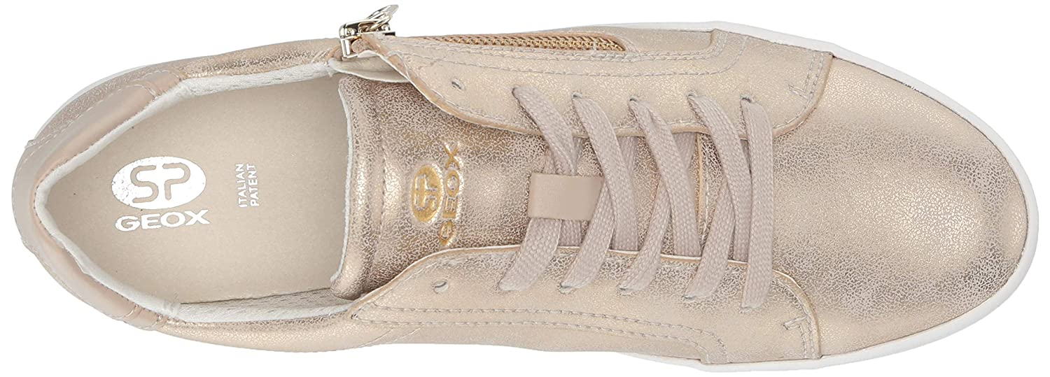 juicio Venta ambulante amor  Buy Geox Women's Blomiee 10 Fashion Sneaker with Zipper at Amazon.in