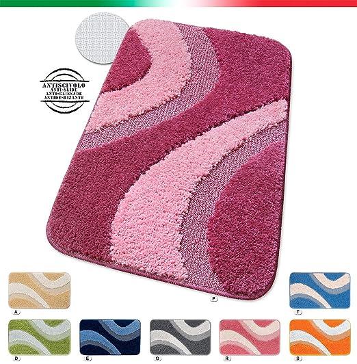 22 opinioni per TAPPETO BAGNO shaggy ANTISCIVOLO moderno VARIE MISURE tappeti casa bordato