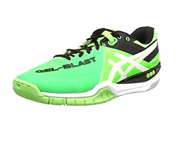 Asics Gel-Blast 6, Men's Indoor Court Shoes, Neon Green/White/