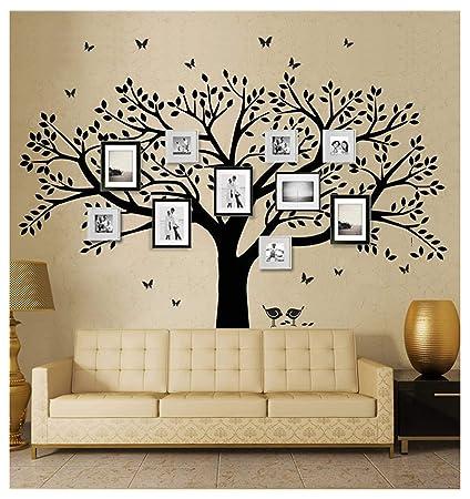 BDECOLL Decorazione adesiva da parete,gigante albero per foto di ...